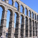 aquaduct in Segovia